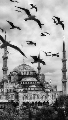 original_title] – Zeynep Rana – Join in the world of pin Islamic Wallpaper, Galaxy Wallpaper, Photo Islam, Mosque Silhouette, Mosque Architecture, Architecture Drawing Plan, Istanbul City, Beautiful Mosques, Islamic Pictures