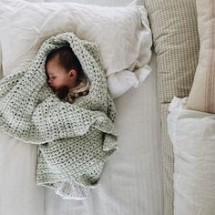 """his first good sleep in days and it's in mama's big bed all tucked in and cozy. we're battling alfie's first cold and when i say """"we're"""" boy do i ever mean it. it's a """"baby goes where i go"""" situation and seeing him sad and coughing just breaks my heart! The Babys, Little Babies, Little Ones, Cute Babies, Baby Pictures, Baby Photos, Book Bebe, Baby Boy, Baby Girls"""