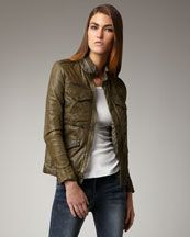 Joe's Jeans  Jerome Leather Jacket  $490.00