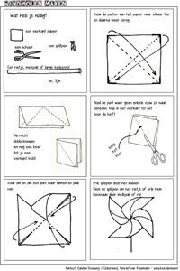 make Layout - Molenmuis Useful Origami, Stem Challenges, Sunday School Crafts, Christmas Crafts For Kids, Projects To Try, Teaching, Layout, Windmill, Weather