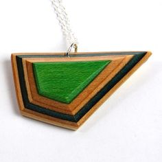 G-Metric Necklace    Recycled skateboard jewelry! MapleXO