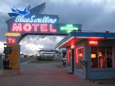 Blue Swallow Motel  Tucumcari, NM...stayed here mid '70s
