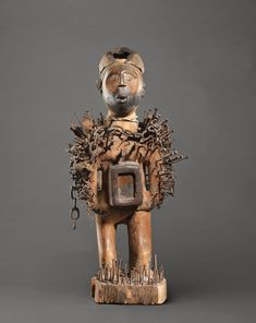 Art Magique, African Art, Lion Sculpture, Clock, Statue, Congo, Radiation Exposure, Africa, Watch