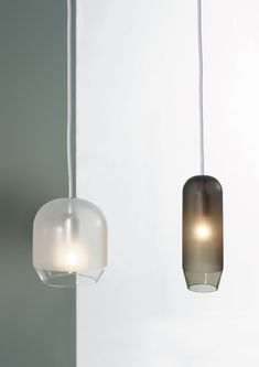 Glass pendant lamp RASO by Ex.t design Sebastian Herkner Pendant Chandelier, Pendant Lighting, Modern Lighting, Lighting Design, Modern Lamps, Lamp Light, Light Up, Sebastian Herkner, Lamp Design