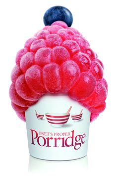 Prets Proper Porridge Ad