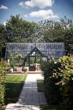 orangeri i ikast - drivhus og haveanlæg - paradehusets tegnestue design