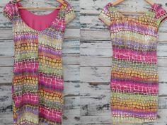 $490 Vestido ultra top con buena caída hecho en lentejuelas con colores a la moda. Imperdible!  www.lavidrierita.com.ar Elegís, compras y te llega a tu casa!