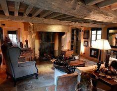L'intérieur de la longère normande © Droits de reproduction et de diffusion réservés © 2013 France Télévisions