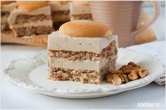 Orzechowiec - I Love Bake Krispie Treats, Rice Krispies, Vanilla Cake, Tiramisu, Cheesecake, Cooking Recipes, Sweets, Baking, Ethnic Recipes