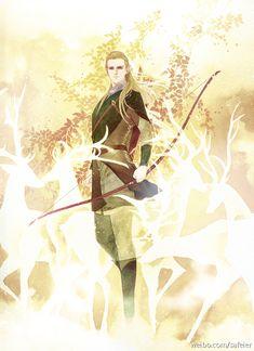 Legolas by Safeier Hobbit Art, O Hobbit, Legolas And Thranduil, Aragorn, Fanart, Epic Art, Elvish, Illustration, Jrr Tolkien