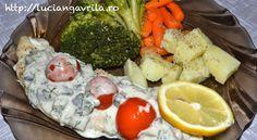 Oven baked #zander fillet  File de #șalău la cuptor