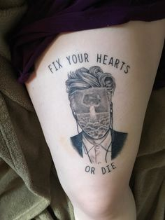 Twin Peaks / David Lynch tattoo