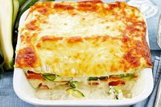 This delicious zucchini, sweet potato & ricotta lasagna is the ideal family meal everyone will enjoy.