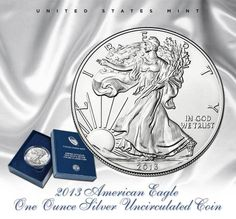 2013 American Eagle One Ounce Silver Uncirculated Coin