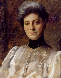 William Merritt Chase - Portrait of a Woman