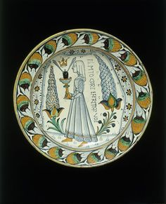 Dish | Deruta, Italy (made)  Date: 1470-1490 (made)