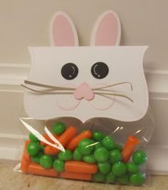 Peas and carrots jelly beans
