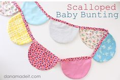 TUTORIAL: Scalloped Baby Bunting | MADE