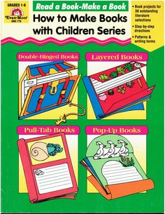 Read+a+Book-Make+a+Book+How+to+Make+Books+with+Children+Gr+1-6+Evan-Moor+EMC+778+isbn+1557995796+LA2