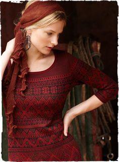Peruvian pattern shirt
