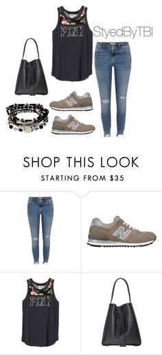 """Untitled #371"" by styledbytbi on Polyvore featuring River Island, New Balance and Kenneth Cole"