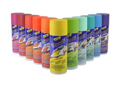 Full line of Plasti Dip Muscle Car Colors! Available in Aerosol and Gallons!!