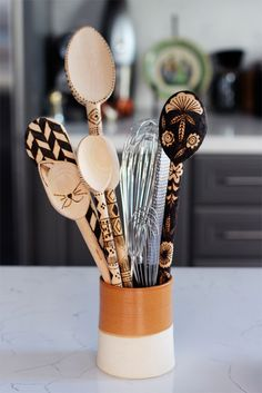 13 Ways to Upcycle Cutlery via Brit + Co.
