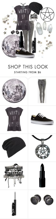 """""""What's up witches"""" by xxonyx-lightwaterxx ❤ liked on Polyvore featuring Seletti, Topshop, Vans, AllSaints and ASOS"""