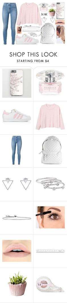 """15th November - ""A clever person solves a problem. A wise person avoids it."""" by jvc-nike ❤ liked on Polyvore featuring Versace, adidas, Monki, 7 For All Mankind, Stampd, Eloquii, London Road and Fashion Forms"