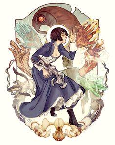 Dark Horse's BioShock Infinite Art Contest. Art by Coey Kuhn!