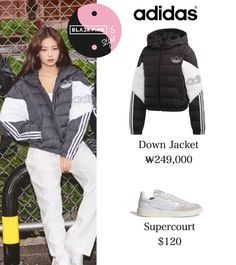 Blackpink Fashion, Kpop Fashion Outfits, Stage Outfits, Korean Fashion, Cute Comfy Outfits, Stylish Outfits, Korean Outfit Street Styles, Cotton Sweatpants, Pink Outfits