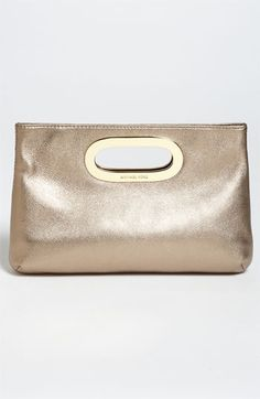 MK Metallic Clutch - goes with everything.