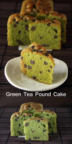 Green Tea Pound Cake -- buttery, rich, and scented with the amazing aroma of green tea | rasamalaysia.com
