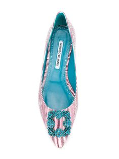 Manolo Blahnik Hangisi ballerina shoes