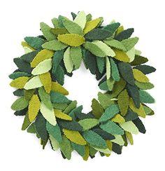 Green Leaves Wreath in Hand Felted Wool Arcadia Home https://www.amazon.com/dp/B01KG58T38/ref=cm_sw_r_pi_dp_x_GyeuybT83PBZB