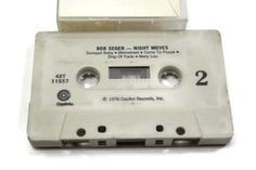 BOB SEGER - NIGHT MOVES Vintage Cassette Tape Date: 1976 Tape Condition: as shown Play Condition: VG - all of our vintage audio are in playing condition Cover Condition: as shown - please see pics VIEW OUR GRADING SCALE for details. **price includes standard USA domestic shipping.** - EX-VG audio play may be TESTED before shipping - SOLD AS IS. Please email any questions or concerns. All sales final. Accessories, if shown, are not included. No infringement expressed nor implied. SHIPPING…