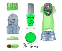 FLUO GREEN  Fashion Outfits with MI-NY Be FLUO Collection!  SHOP ONLINE:http://www.minyshop.com/it/be-fluo/317-fluo-green-.html   #miny #nailpolish #smalto #nails #glamour #fashion #madeinitaly #noanimaltesting #outfit #outfitoftheday #glam #glamcolors #baby #fashionista