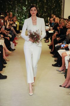 Carolina Herrera's chic separates are perfect for the cutting edge bride
