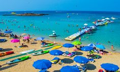 Fig Tree Bay in Protaras in Cyprus has been voted as one of Europe's best beaches