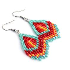 Excited to share the latest addition to my #etsy shop: ethnic earrings, boho earrings, beaded earrings, native beaded, fringe earrings, tassel earrings, seed bead earrings, earrings native #jewelry #earrings #rainbow #earwire #indianearrings #bohochick #bohoearrings #beadedearrings #fringeearrings #fashionjewelry #etsysellers #etsyfind #etsyjewelry #fashionwomen #trend2018 #carnivaljewelry #stainlesssteel #geometric #girls http://etsy.me/2CJsffz