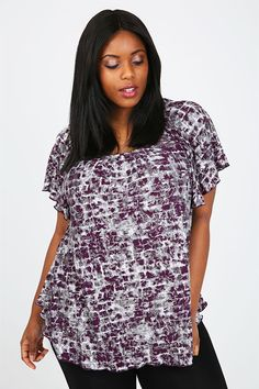 Yours Clothing Women/'s Plus Size Fuchsia Pink Beaded Hanky Hem Vest Top