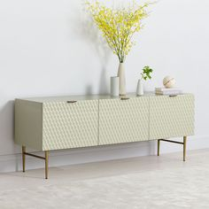 Storage can be functional and stylish with west elm media consoles. Our media console comes in a variety of sizes for small spaces or big living rooms. West Elm Media Console, Dining Room Corner, Entryway Cabinet, Mid Century Console, Crate Shelves, Small Room Decor, Contemporary Interior Design, Contemporary Furniture, Cool Rooms