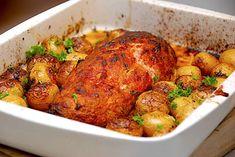 Græsk farsbrød - nem opskrift med feta og grøntsager