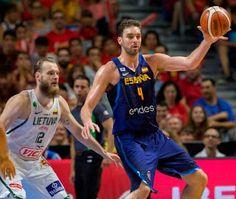Blog Esportivo do Suíço:  Adversários do Brasil no Rio, Espanha perde para Lituânia na volta de Pau Gasol
