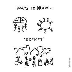People. Word of day 94: society. . . #365waystodrawfestival #society #maatschappij #illustratie #illustration #tekening #waystodraw #icons #sketchnote #visualnote #graphicrecording #getekendverslag #getekendenotulen #zakelijktekenen #visuelenotulen #visueelnotuleren #tekening #studiolimon #haarlem #amsterdam #denbosch #dailydrawing