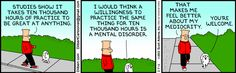 The Dilbert Strip for February 7, 2013