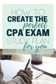 How to create the right CPA exam study plan for your learning style #cpa #cpaexam #accounting #bookkeeping ★·.·´¯`·.·★ follow @motivation2study for daily inspiration
