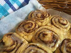 Glazed Cinnamon Pinwheel Scones - Just a Mum Making Scones, How To Make Scones, My Recipes, Sweet Recipes, Baking Recipes, Scone Recipes, Recipies, Vegan Recipes, Cinnamon Scones