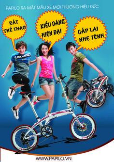 Tuổi Teen sôi động cùng xe đạp gấp PAPILO http://papilo.vn/su-kien/teen-va-trao-luu-di-xe-dap-gap-a80.html