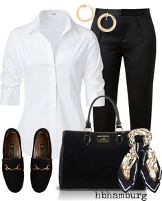 """""""No. 206 - Office gear"""" by hbhamburg on Polyvore"""